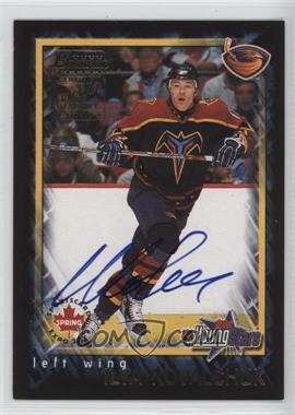 2001-02 Bowman YoungStars - Sports Card Spring Expo Autographs #1 - Ilya Kovalchuk