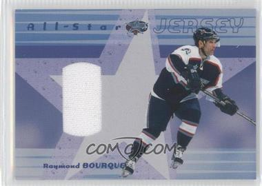 2001-02 In the Game Be A Player Memorabilia - All-Star Jersey #ASJ-17 - Ray Bourque /98