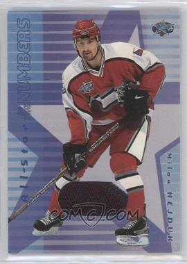 2001-02 In the Game Be A Player Memorabilia - All-Star in the Numbers #ASN-04 - Milan Hejduk /10