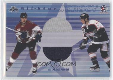 2001-02 In the Game Be A Player Memorabilia - Dual All-Star Jersey #DASJ-23 - Al MacInnis /60
