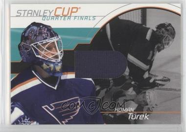 2001-02 In the Game Be A Player Memorabilia Stanley Cup Jerseys #SC-15 - Roman Turek /95