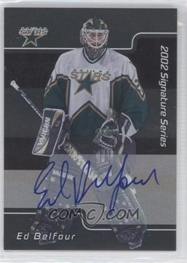 2001-02 In the Game Be A Player Signature Series Autograph [Autographed] #LEB - Ed Belfour