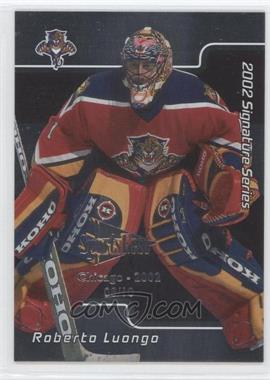 2001-02 In the Game Signature Series - Chicago SportsFest #012 - Roberto Luongo /10