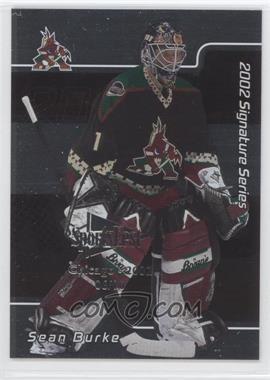 2001-02 In the Game Signature Series - Chicago SportsFest #022 - Sean Burke /10