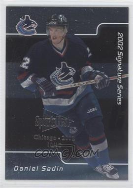 2001-02 In the Game Signature Series - Chicago SportsFest #051 - Daniel Sedin /10