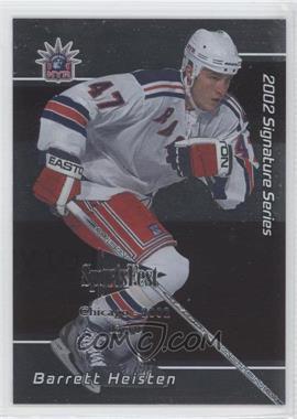 2001-02 In the Game Signature Series - Chicago SportsFest #218 - Barrett Heisten /10