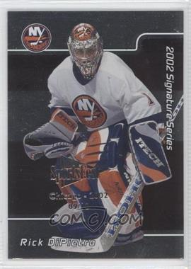2001-02 In the Game Signature Series Chicago SportsFest #001 - Rick DiPietro /10