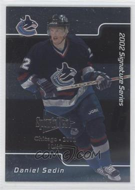 2001-02 In the Game Signature Series Chicago SportsFest #051 - Daniel Sedin /10