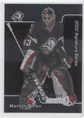2001-02 In the Game Signature Series Chicago SportsFest #150 - Martin Biron /10