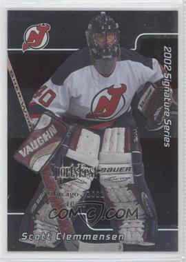 2001-02 In the Game Signature Series Chicago SportsFest #216 - Scott Clemmensen /10
