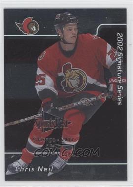2001-02 In the Game Signature Series Chicago SportsFest #219 - Chris Neil /10