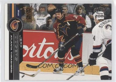 2001-02 Pacific - [Base] - Premiere Date #22 - Jeff Odgers /45