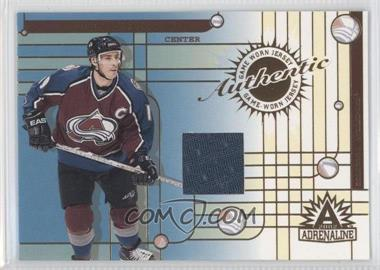 2001-02 Pacific Adrenaline Game-Worn Jerseys #10 - Joe Sakic