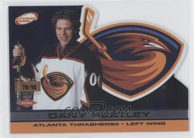 2001-02 Pacific Atomic - [Base] - Premiere Date #103 - Dany Heatley /90