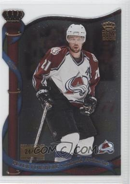 2001-02 Pacific Crown Royale Premiere Date #37 - Peter Forsberg /60