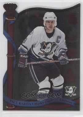 2001-02 Pacific Crown Royale Red #4 - Paul Kariya /35