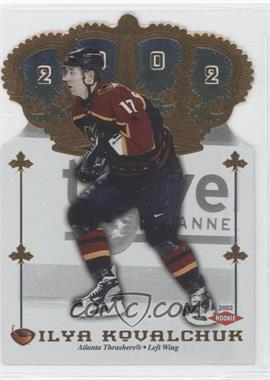 2001-02 Pacific Crown Royale #147 - Ilya Kovalchuk /267
