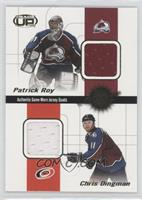 Patrick Roy, Chris Dingman, Greg de Vries, Jon Klemm