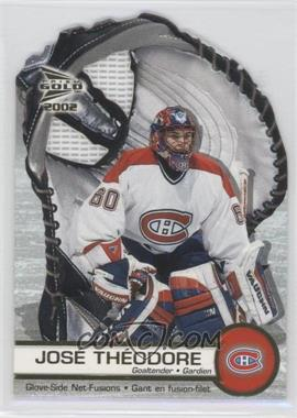2001-02 Pacific Prism Gold McDonald's [???] #3 - Jose Theodore