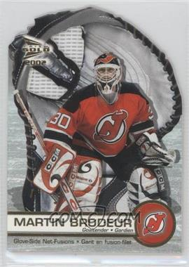 2001-02 Pacific Prism Gold McDonald's [???] #4 - Martin Brodeur