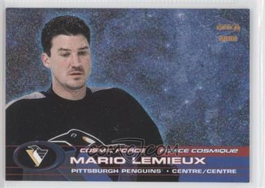 2001-02 Pacific Prism Gold McDonald's Cosmic Force #2 - Mario Lemieux