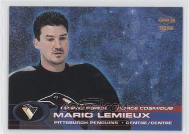 2001-02 Pacific Prism Gold McDonald's Cosmic Force #2 - Mario Lemieux