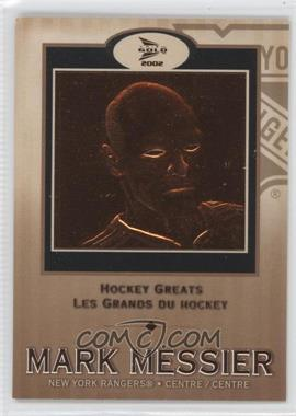 2001-02 Pacific Prism Gold McDonald's Hockey Greats #6 - Mark Messier