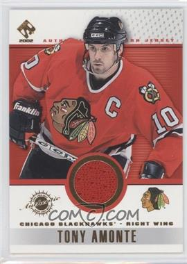 2001-02 Pacific Private Stock Game-Used Gear #20 - Tony Amonte