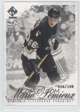 2001-02 Pacific Private Stock Silver #78 - Mario Lemieux /108