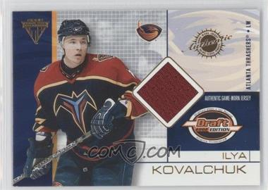 2001-02 Pacific Private Stock Titanium Draft Edition - [Base] #7 - Ilya Kovalchuk