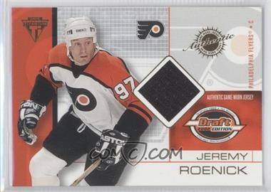 2001-02 Pacific Private Stock Titanium Draft Edition - [Base] #72 - Jeremy Roenick