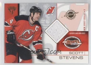 2001-02 Pacific Private Stock Titanium Draft Edition [???] #55 - Scott Stevens