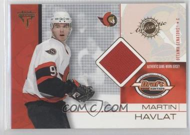 2001-02 Pacific Private Stock Titanium Draft Edition [???] #65 - Martin Havlat