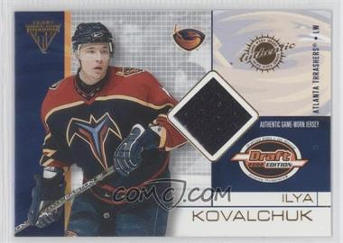 2001-02 Pacific Private Stock Titanium Draft Edition [???] #7 - Ilya Kovalchuk