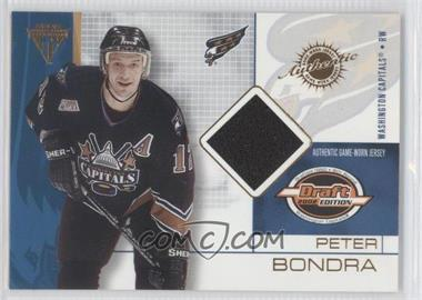 2001-02 Pacific Private Stock Titanium Draft Edition [???] #99 - Peter Bondra