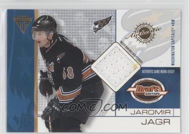 2001-02 Pacific Private Stock Titanium Draft Edition #100 - Jaromir Jagr