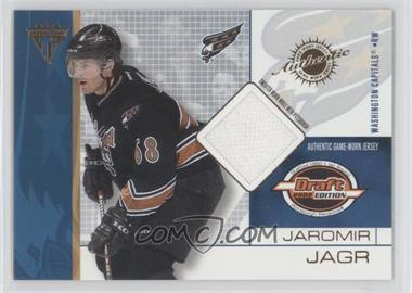 2001-02 Pacific Private Stock Titanium Draft Edition #100 - Jaromir Jagr