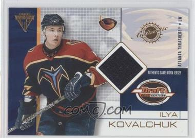2001-02 Pacific Private Stock Titanium Draft Edition #7 - Ilya Kovalchuk