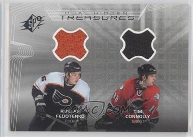 2001-02 SPx Hidden Treasures #DT-FC - Ruslan Fedotenko, Tim Connolly