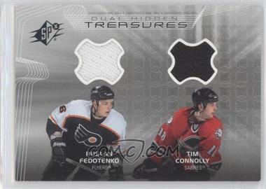 2001-02 SPx Hidden Treasures #DT-FC - Ruslan Fedotenko, Tim Connolly
