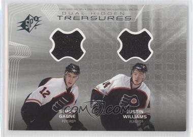 2001-02 SPx Hidden Treasures #DT-GW - Simon Gagne, Justin Williams