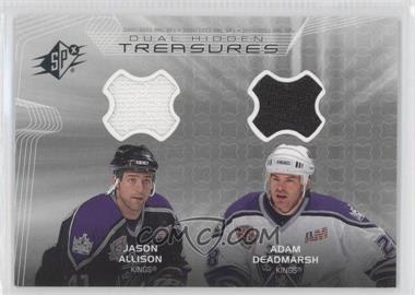 2001-02 SPx Hidden Treasures #DT-JD - Jason Allison, Adam Deadmarsh