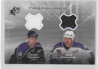 2001-02 SPx Hidden Treasures #JD - Jason Allison, Adam Deadmarsh