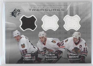 2001-02 SPx Hidden Treasures #TT-DSA - Eric Daze, Steve Sullivan, Tony Amonte