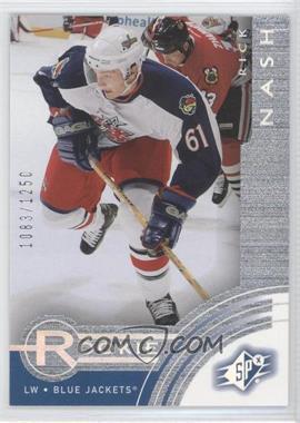 2001-02 SPx Rookie Redemptions Prizes #R9 - Rick Nash /1250