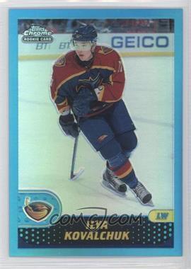 2001-02 Topps Chrome Refractors #149 - Ilya Kovalchuk