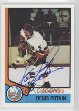 2001-02 Topps Rookie Reprints Autographs [Autographed] #195 - Denis Potvin