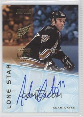 2001-02 Topps Stadium Club Lone Star Signatures #LS6 - Adam Oates