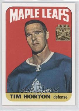 2001-02 Topps/O-Pee-Chee Archives [???] #102 - Tim Horton