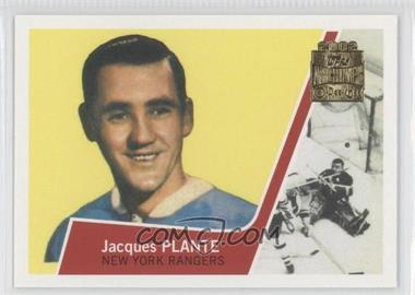 2001-02 Topps/O-Pee-Chee Archives [???] #45 - Jacques Plante